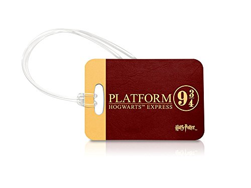 Harry Potter – Platform 9 ¾ – Luggage Tag – Bag Charm – Great for Gifting or Accessorizing