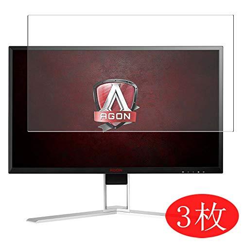 VacFun 3 Piezas HD Claro Protector de Pantalla Compatible con AOC Agon AG241QX 24