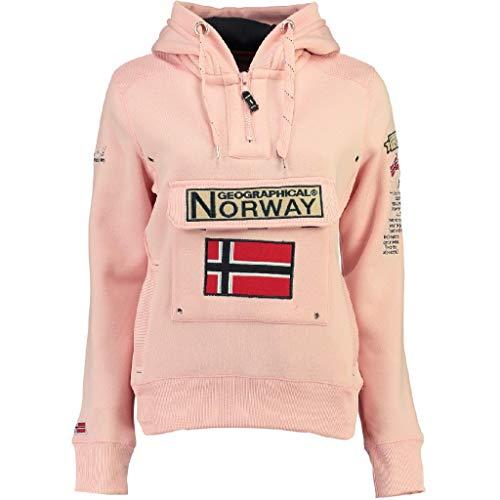 Geographical Norway Sudadera Mujer GYMCLASS B Rosa Claro L
