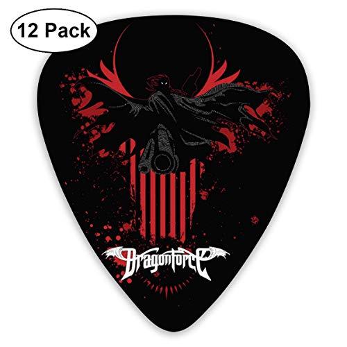 Fashion Dragonforce Guitar Picks (12er Pack) für E-Gitarre-5N-F6