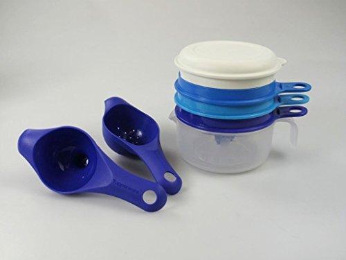 TUPPERWARE Backen Küchenperle Zitronenpresse Eiertrenner + Trichter + Sieb P 20839