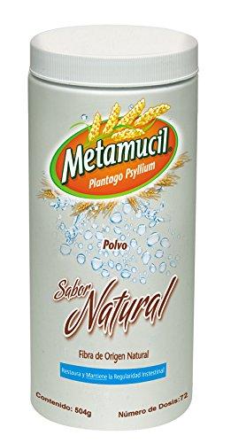 Metamucil Polvo Natural, 504 g