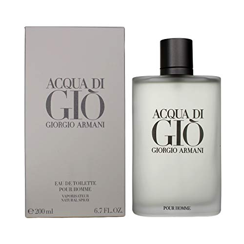 Giorgio Armani Aqua Di Gio for Men Eau de Toilette Spray, 6.7 Ounce