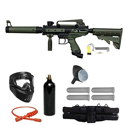 Tippmann Cronus Paintball Marker Gun -Tactical Edition- Olive Starter Package