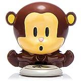 com-four Asciugacapelli Asciugacapelli Monkey in Un Design a Forma di scimmietta, treccine per Le Unghie (1 Pezzo)