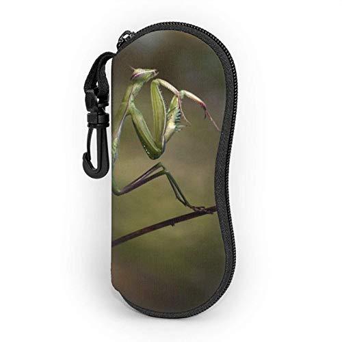 Funda Gafas Mantis Neopreno Estuche Ligero con Cremallera Suave Gafas Almacenaje