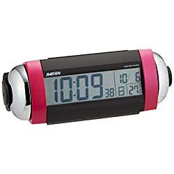 SEIKO CLOCK ( Seiko clock ) RAIDEN loud radio digital alarm clock ( pink ) NR530P