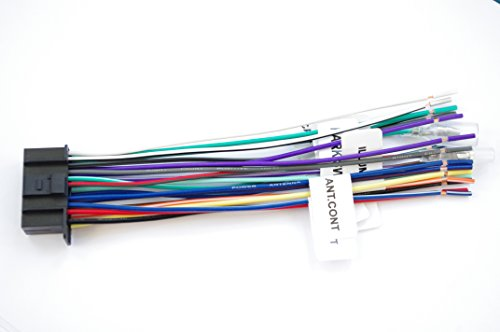 Wire Harness for Kenwood 22 PinLabeled KW-NT800HDT, KVT-696, KVT-614,KVT-516, KVT-514, KVT-512, KMR-700U