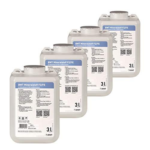 BWT Mineralstoff-Quantophos F2/FE, 4 x 3 Liter, 18026E