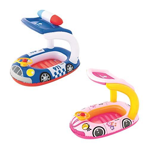 Bestway 34103 - Barca Hinchable Infantil Kiddie Car 98x66 cm