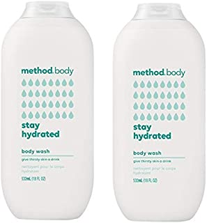 Method Body Body Wash - Stay Hydrated 18 FL OZ 532 ml - 2-PACK