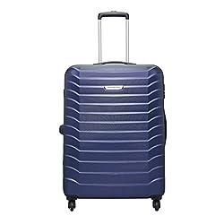 Aristocrat Juke Polycarbonate 75 cms Blue Hard Sided Suitcase (JUKE75TMIB),VIP Industries Ltd,JUKE75TMIB