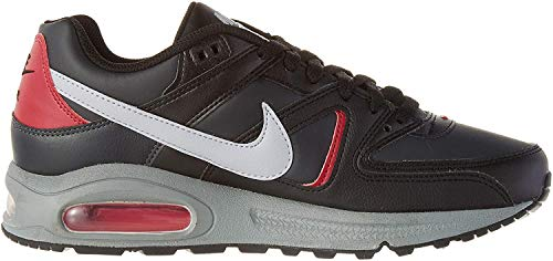 Nike Mens AIR MAX Command Running Shoe, Black/Wolf Grey-Anthracite-Noble Red, 42 EU