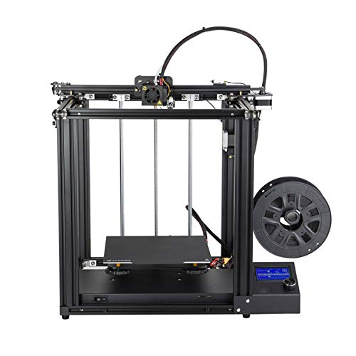 GMZS 3D Printer, DIY Kit 220 * 220 * 300Mm Build Volume with Upgrade Silent Motherboard PTFE Tubing Extruder