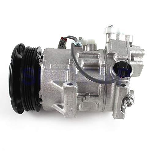 447260-1178 Aria Condizionata Compressore - SINOCMP AC Compressore per Toyota Yaris 2007-2013 Denso 5SE11C,3 mesi di garanzia