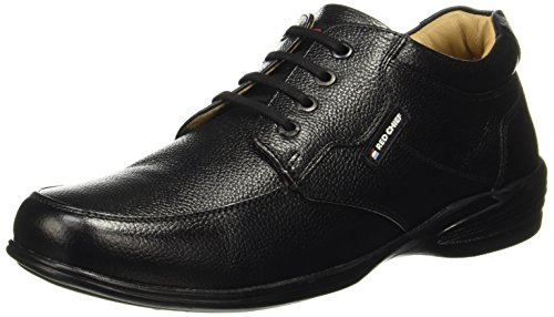 Red Chief Men's Black Formal Shoes - 8 UK/India (42 EU)(RC3506 001)