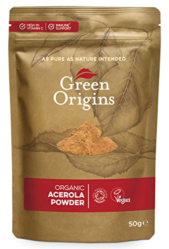 Green Origins Organic Acerola Powder, Raw 50g
