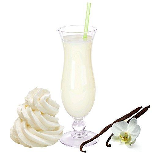 Sahne Vanille Geschmack Milchshake Pulver Gino Gelati zum Milchshakes selber machen (1 kg)