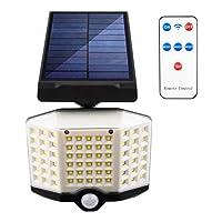 Generic 防水ソーラーライト屋外3モード防犯灯モーションセンサーライト経路、庭、ガレージ - 66 led