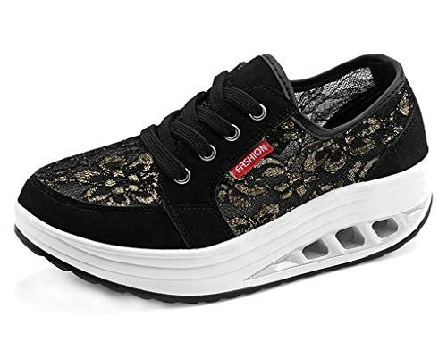 CELANDA Zapatos de Deporte para Mujers Adelgazar...