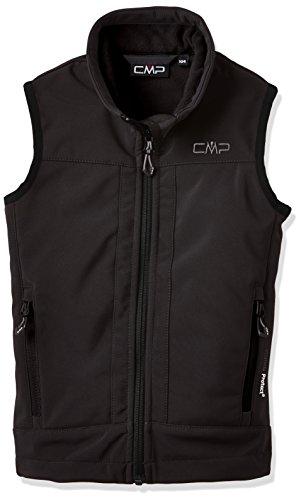 CMP Jungen Weste Softshell, schwarz (U901), 176, 3A00184
