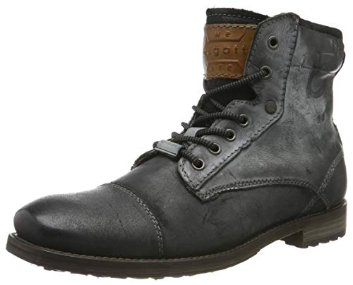bugatti Herren 321803311914 Klassische Stiefel, Grau, 44 EU