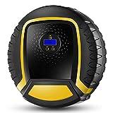 ZWYSL Gonfiatore di Pneumatici for Auto con Luce LED Compressore d'Aria Elettrico for Piscina Gonfiabile for Auto, Bicicletta, Moto e Altri gonfiabili (Size : Pointer)