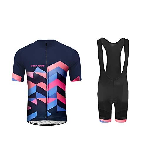 Uglyfrog 2017, HDX11, Sommer-Triathlon-Bekleidung für Herren, Trikots, stilvoll M Color 21