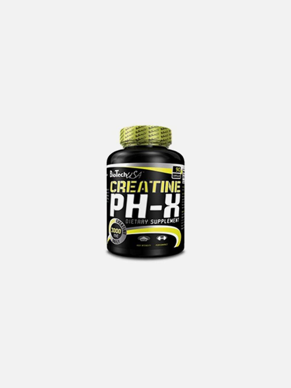 Creatine PH-X - Biotech 55% OFF 90 capsules Wholesale