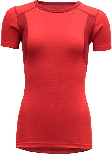 Devold Hiking T-Shirt Damen Chilli Größe S 2020 Kurzarmshirt