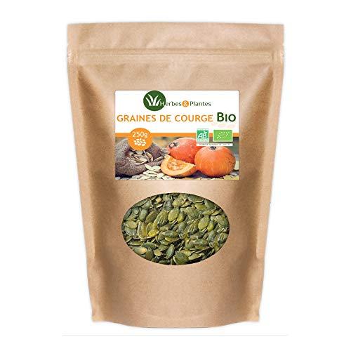 Herbes Et Plantes Graines de Courge Bio 250 g