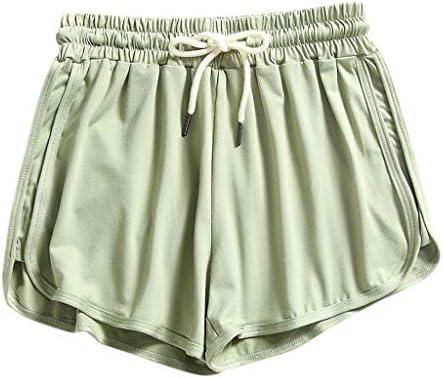 FONMA Fashion Women Elastic High Waist Sexy Summer Shorts Lady Beach Short Pants Green product image