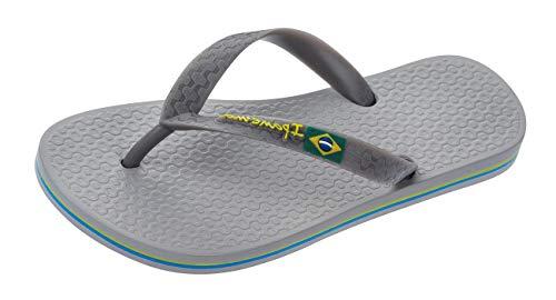 Ipanema Classic Brazil para Hombre Chanclas Sandalias -Grey-41/42