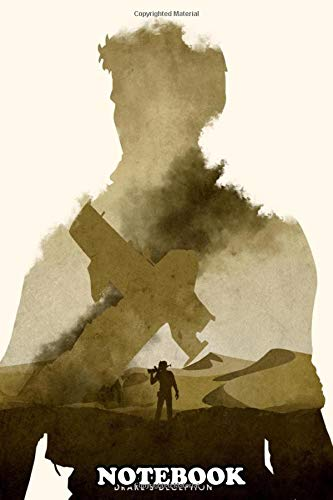 Notebook: Poster Design For The Video Game Uncharted 3 , Journal for Writing, College Ruled Size 6