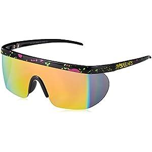 Unisex Performance Sport Style Retro Mirrored Sunglasses