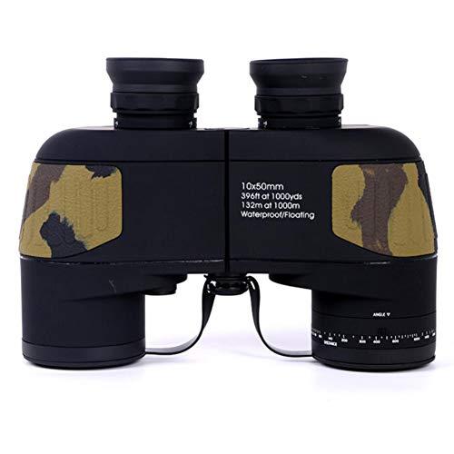 10 X 50 HD Fernglas Mit Entfernungsmesser Fernrohr Wasserdicht Zum Sport Militär Optik Jagd Camping Wandern Reisen Konzert