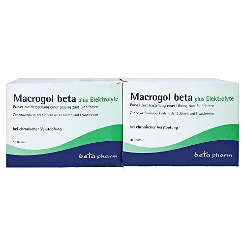MACROGOL beta plus Elektrolyte Plv.z.H.e.L.z.Einn. 100 St