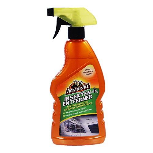 ARMOR ALL Insektenentferner 500 ml, für Lack, Glas, Zierleisten, bei ֖l, Fett, Teer, Insekten, Vogelkot, Bremsstaub