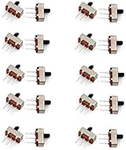 HiLetgo® 20個セットSS12D00G5 スライド スイッチ トグルスイッチ SPDT 1P2T 2 位置 3 ピン シャフト 5 MM ピッチ 2.5 MM [並行輸入品]