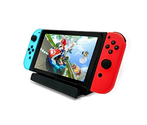 Soporte de cargador USB para Nintendo Switch, la base de carga de Nintendo Switch incluye cable tipo C