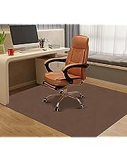 Sawfurntチェアマットゲーミングチェアマット 床保護マット160×140cm デスクマット カーペット 椅子マット フロアマット 傷防止 フローリングマット 滑り止め吸音 足元マット カット可能