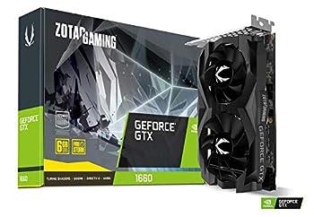 ZOTAC Gaming GeForce GTX 1660 6GB GDDR5 192-bit Gaming Graphics Card Super Compact ZT-T16600F-10L