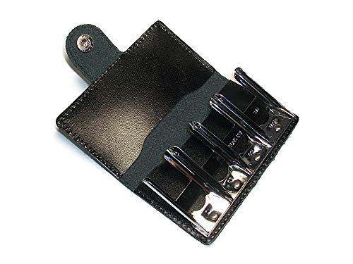 【日本製】 本革 コインキャッチャー コンパクト 小銭入れ コインケース メンズ レディース レザー コインホルダー 黒 (ブラック)