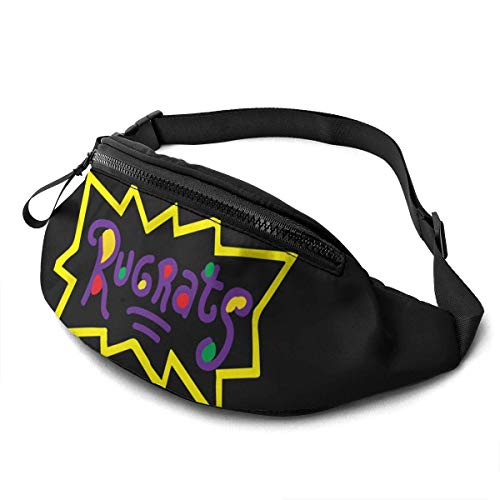 AOOEDM Rugrats Unisex Running Waist Packs Casual Waist Bag Can Hold Small Objects Such As Mobile Phones