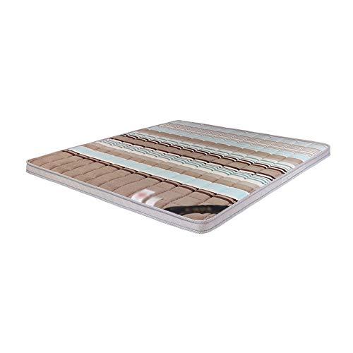 Xiao Long Mattress, Simple And Stylish Home Comfortable Bedroom Mattress Environmentally Friendly Coconut Palm Mattress Latex Mattress (6 Sizes) Mattresses (Size : E)