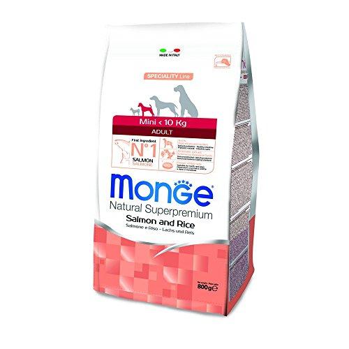 Monge Super Premium Adult Mini Salmone-Riso 800 gr