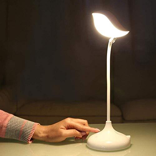 The only goede kwaliteit decoratie creatief schattig minimalisme duurzaam dimbaar opvouwbare vogelvormige USB Bluetooth vogel tafellamp slaapkamer decoratie touch-schakelaar