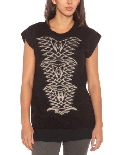 Eleven Paris Damen T-Shirt, Schwarz, M06Black, 36 (Herstellergröße: M)