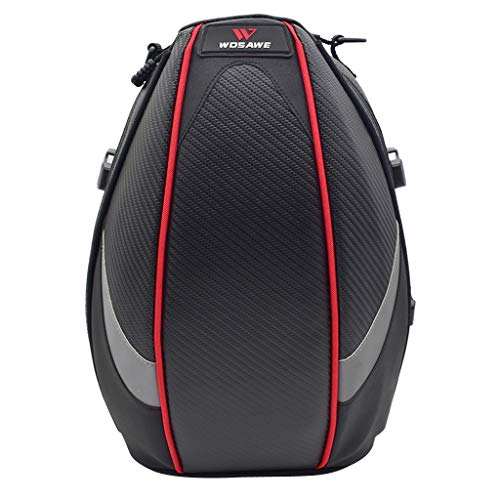 MagiDeal Motorradtasche Leder Hecktasche Fahrrad Satteltasche Gepäcktasche Werkzeugtasche Schultertashce