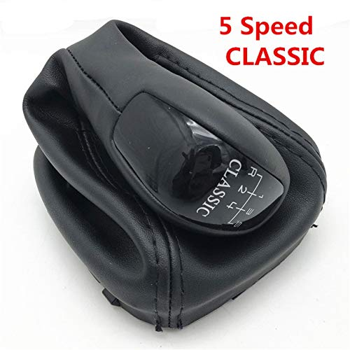 JNXZHQCTB Auto 5/6 shift versnelling joystick kraagschakeling leggings beschermhoes vorm. Voor Mercedes-Benz C-klasse W203 S203